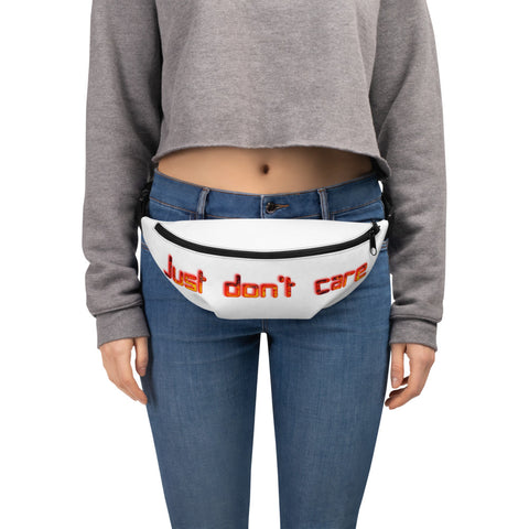 """Just don't Care "" Urbanworld Fanny Pack - UrbanWorld.eu"