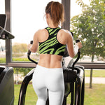 Green Tiger Sports bra - UrbanWorld.eu