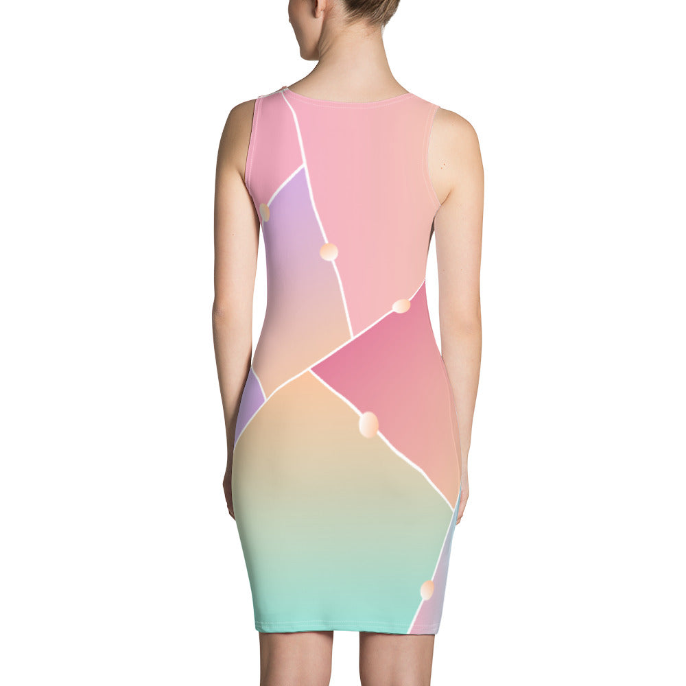Flieder Tight  Dress - UrbanWorld.eu