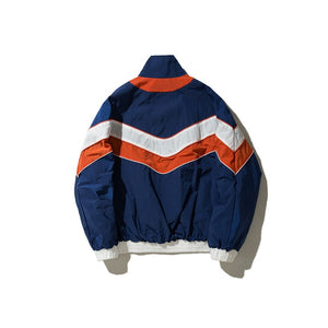 """Multicolor Block"" Vintage Streetwear Patchwork Jacket - UrbanWorld.eu"