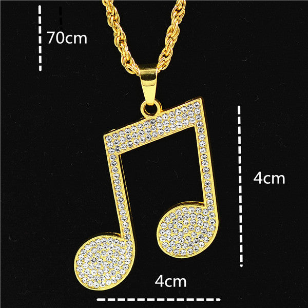 "Iced Out Hip Hop Chain ""The Praying Hands"" - UrbanWorld.eu"