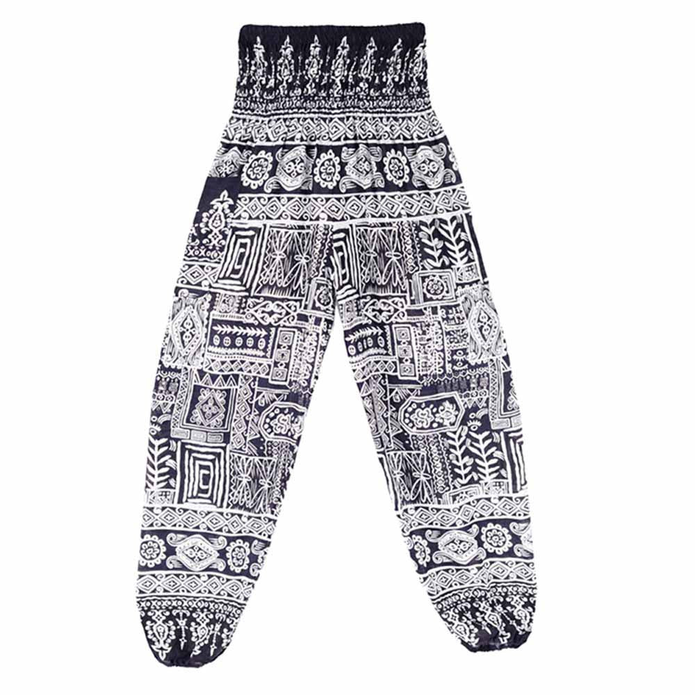 "High Waist Chill Pants ""Hippy Dippy"" - UrbanWorld.eu"