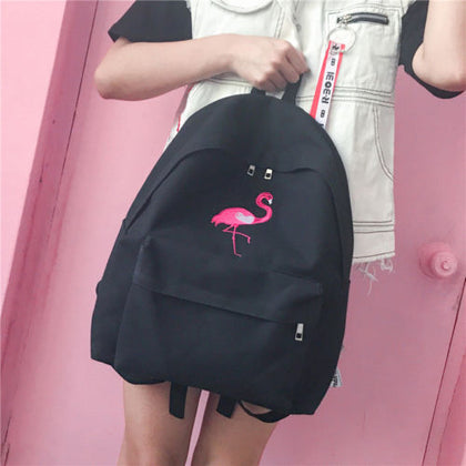 "Stylish Summer Backpack 2018 ""Flamingo"" - UrbanWorld.eu"