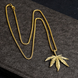 "Iced Out Snoop Dog Chain ""Weed""  [Limited] - UrbanWorld.eu"