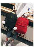 "Vintage Stylish School Bag/ Backpack  ""Animals&Fruits"" - UrbanWorld.eu"