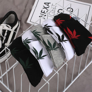 "Hip Hop Streetwear Weed  Socks ""Colored Amsterdam"" - UrbanWorld.eu"