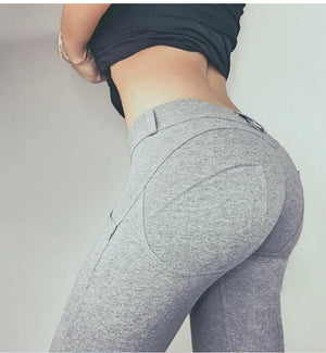 "Elastic Push Up Leggings ""Real Pants"" - UrbanWorld.eu"