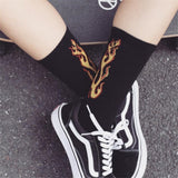 """On Fire"" Socks - UrbanWorld.eu"