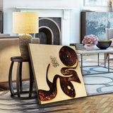 Modern Islamic wall art, Muhammad in Arabic Calligraphy - Lamasset Art