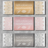 Personalized Islamic wall art ideal for Wedding Gift and couples Home Decor