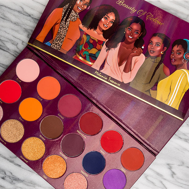 Article 2: Melanin Treasure Eyeshadow Palette by Beauty Of Colour