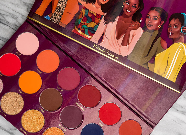 Melanin Treasure Eyeshadow Palette by Beauty Of Colour