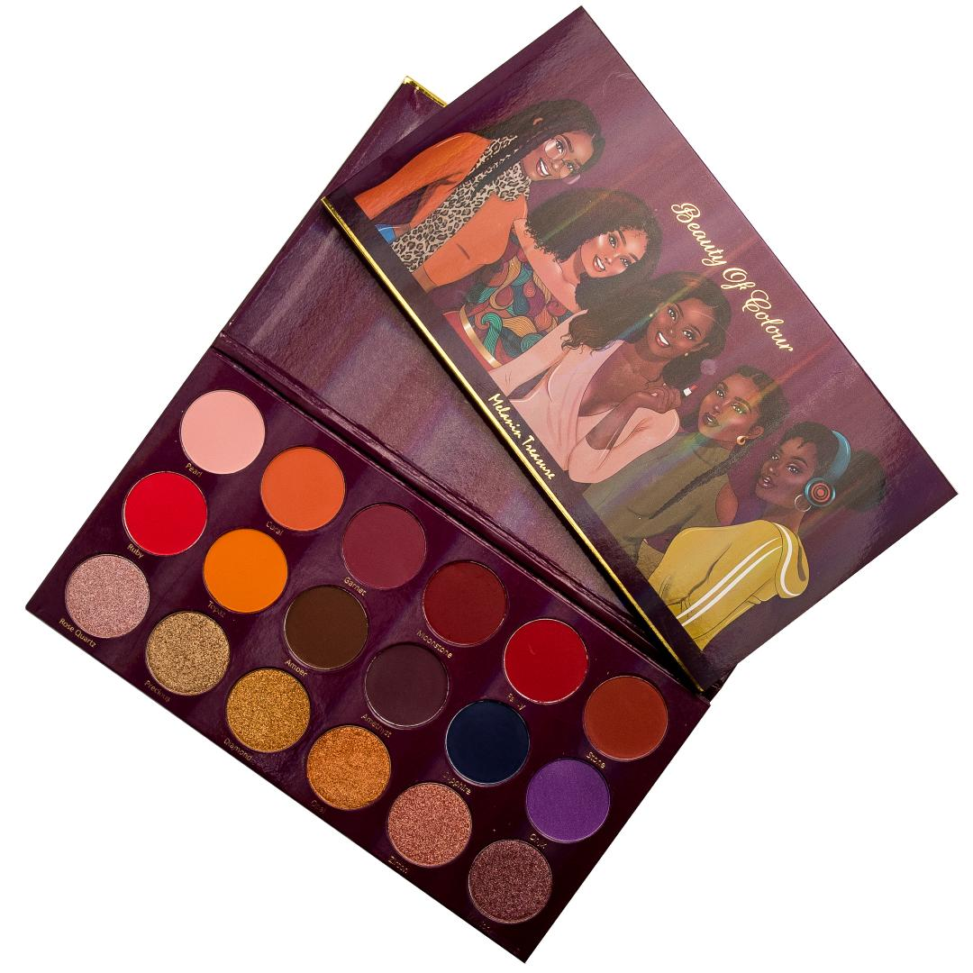 Beauty Of Colour Cosmetics -Melanin Treasure Palette