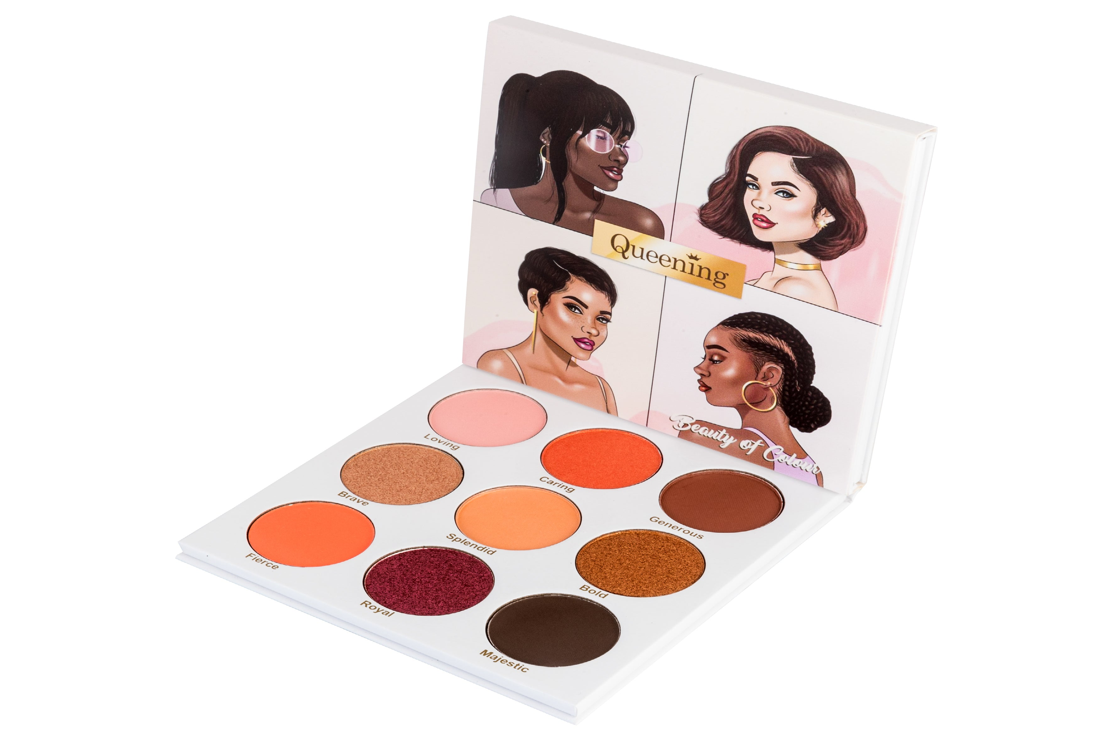 Queening Eyeshadow palette | Beauty of Colour Cosmetics
