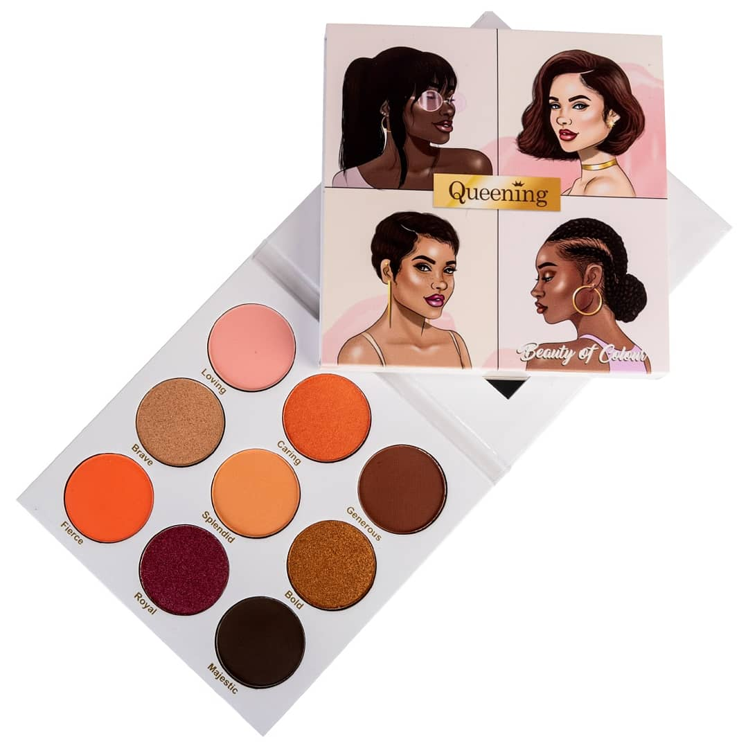 QUEENING Eyeshadow palette |  2020 Makeup palettes