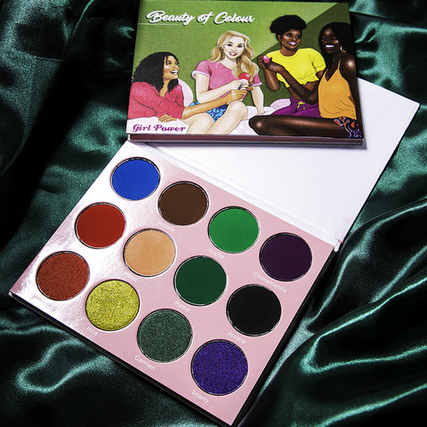 Girl Power palette - Beauty Of Colour Cosmetics