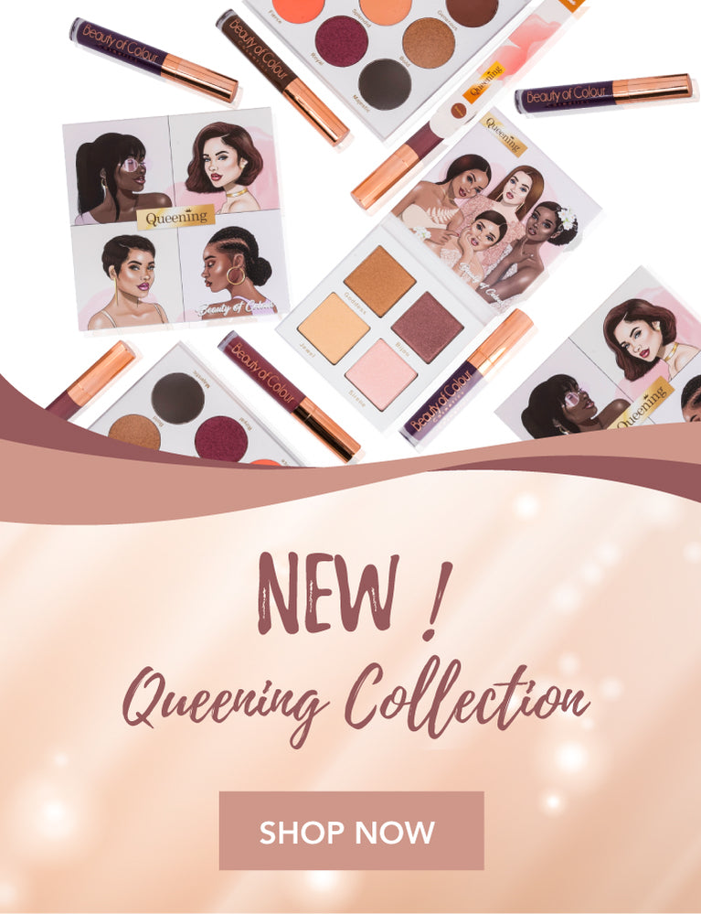 Beauty Of Colour Cosmetics - Queening Eyeshadow palette