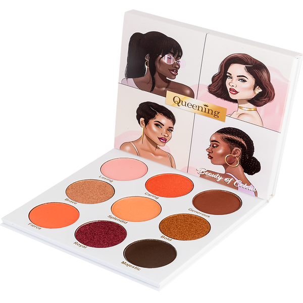 Queening Eyeshadow palette - Beauty Of Colour