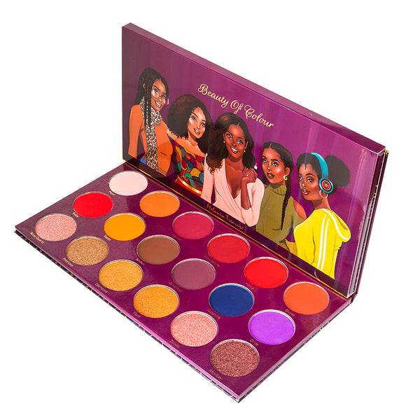 Melanin Treasure Eyeshadow Palette - Beauty Of Colour