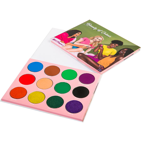 Girl Power Eyeshadow Palette - Beauty Of Colour