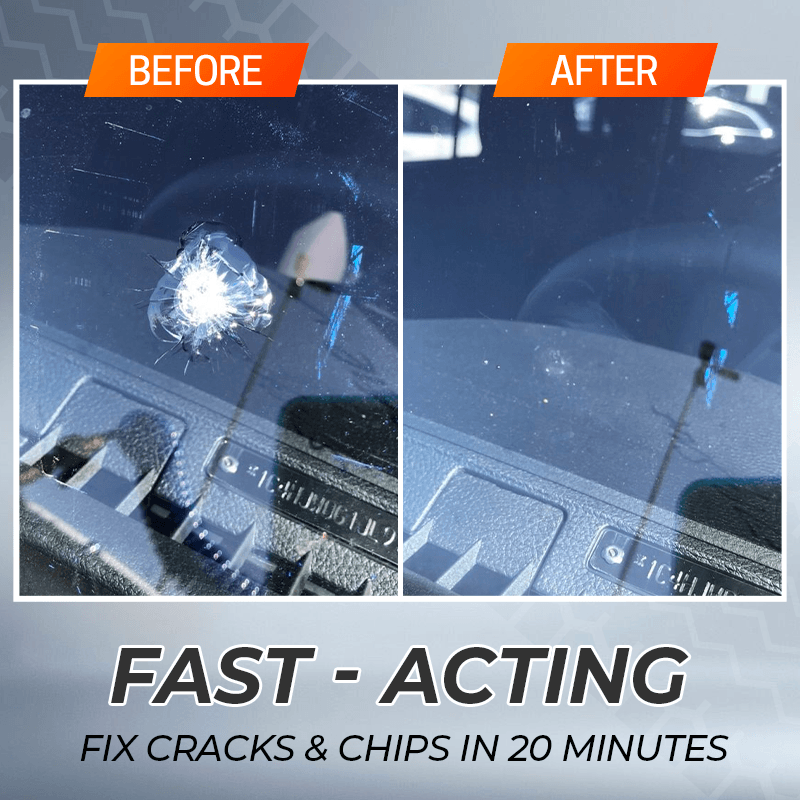 Crackfix™ Windshield Repair Agent