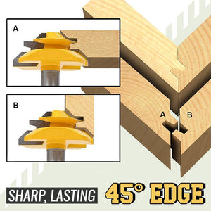 45-Degree Lock Miter Bit