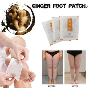 Anti-Inflammation/Swelling Ginger Foot Patches™ (Pack of 10)