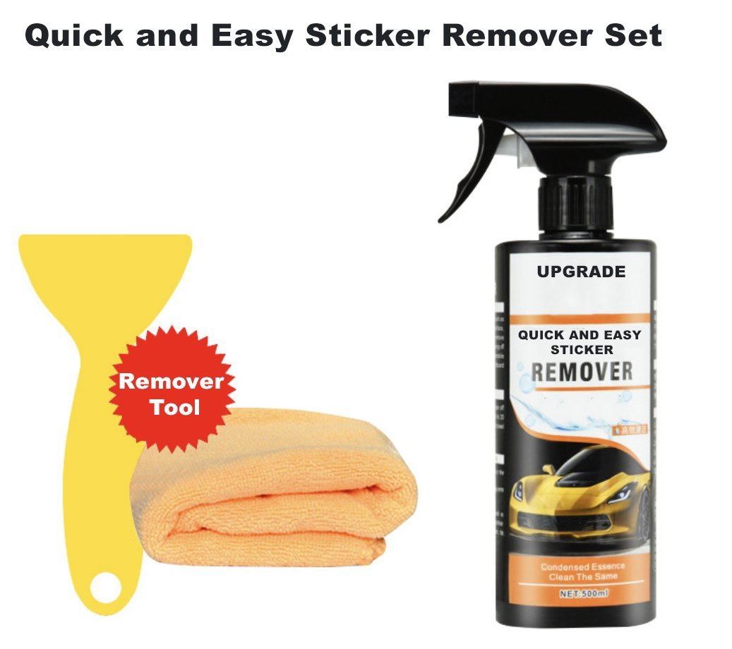Quick and Easy Sticker Remover