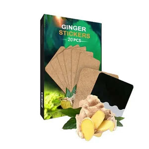 Ginger Stickers (20 Pcs)