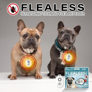Flealess™️ Ultrasonic Flea & Tick Repeller