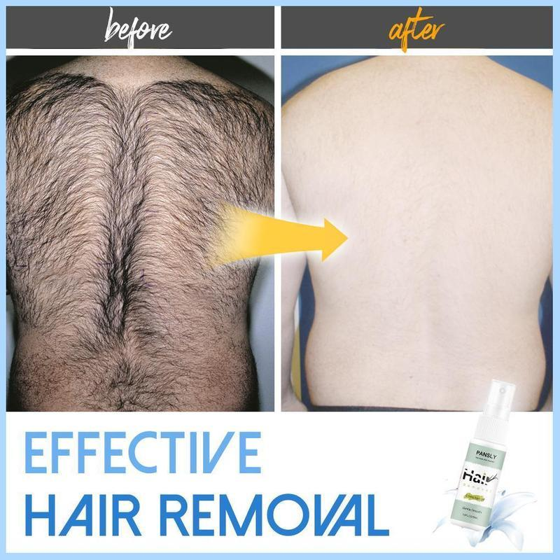 100% Permanent Hair Removal Spray