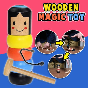 Unbreakable Magic Wooden Man