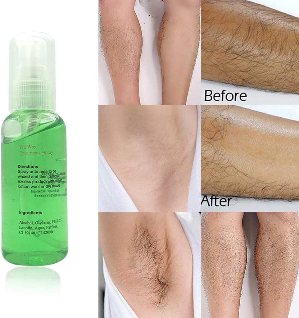Natural Permanent Hair Remover Spray