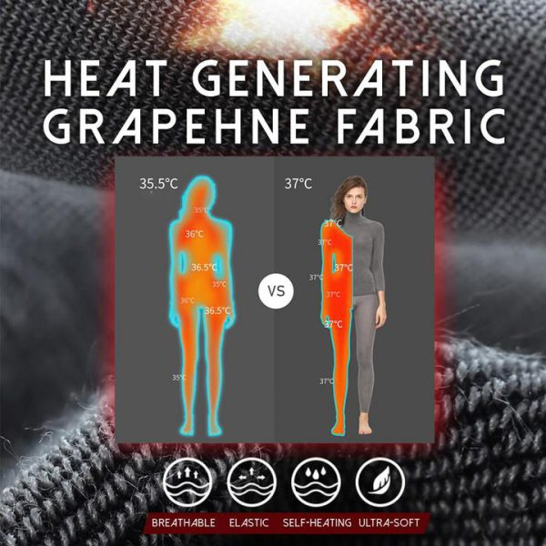 98°F Graphene Thermal Turtle Neck