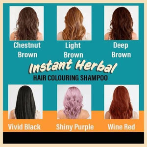 Herbal Hair Darkening Shampoo