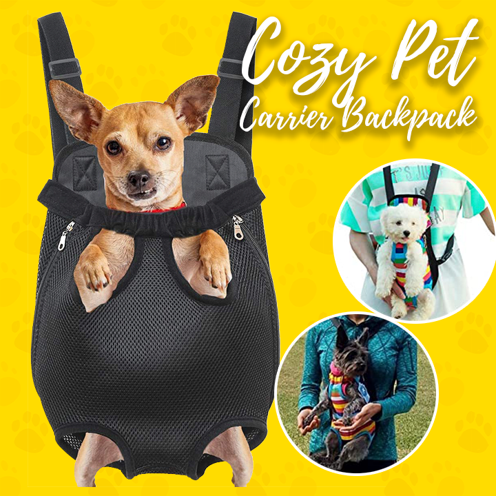 Cozy Pet Carrier Backpack