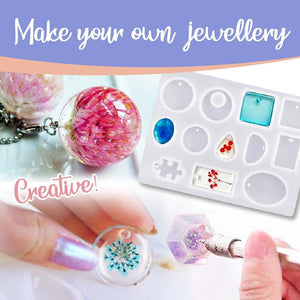 DIY Crystal Glue Jewelry (83PCS/SET)