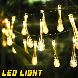 LED Water Drop Fairy Lights