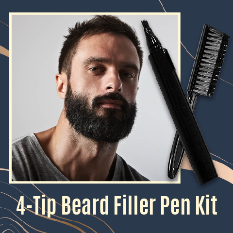 4-Tip Beard Filler Pen Kit
