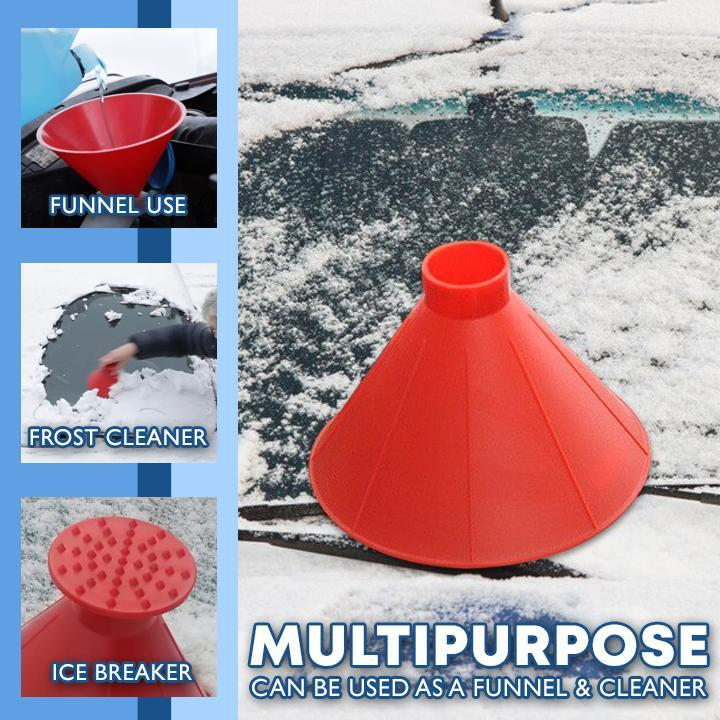 Car Snow Scraper Cone