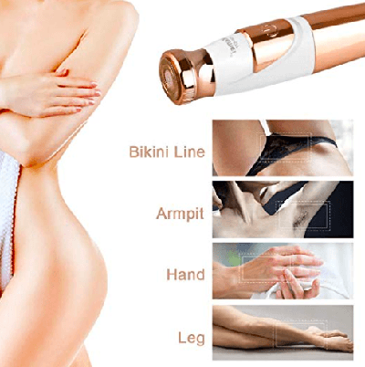 18k Gold Plated Painless Epilator
