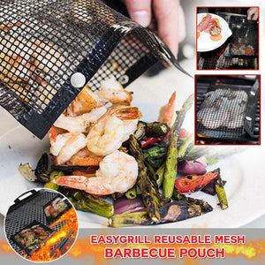 EasyGrill Reusable Mesh Barbecue Pouch