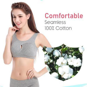 Breathable Anti-Sagging Sports Bra