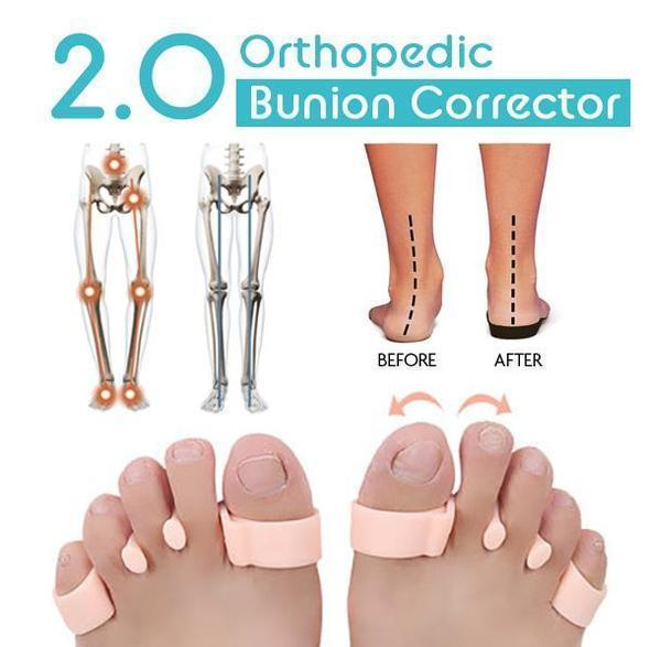 Orthopedic Bunion Corrector 2.0 (A Pair)