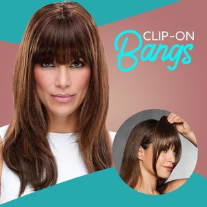 Seamless Clip-In Bang