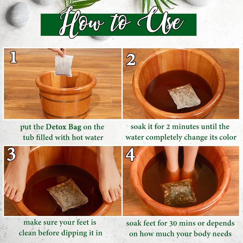 Herbal Detox Foot Soak Bag