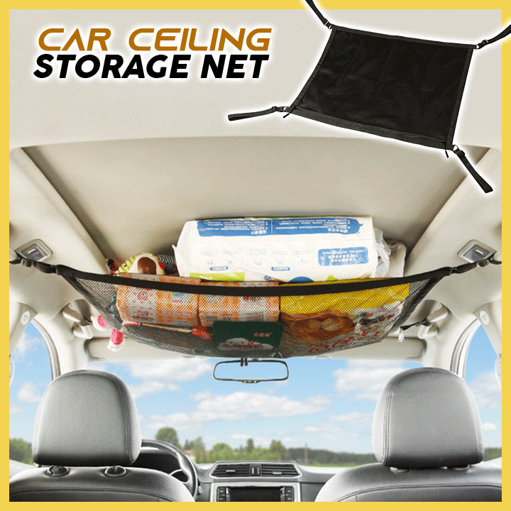 Car Ceiling Storage Net