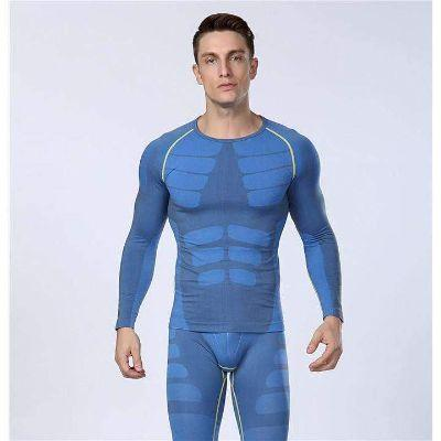 Men's Instant Slimming Compression T-shirt (Long Sleeves)