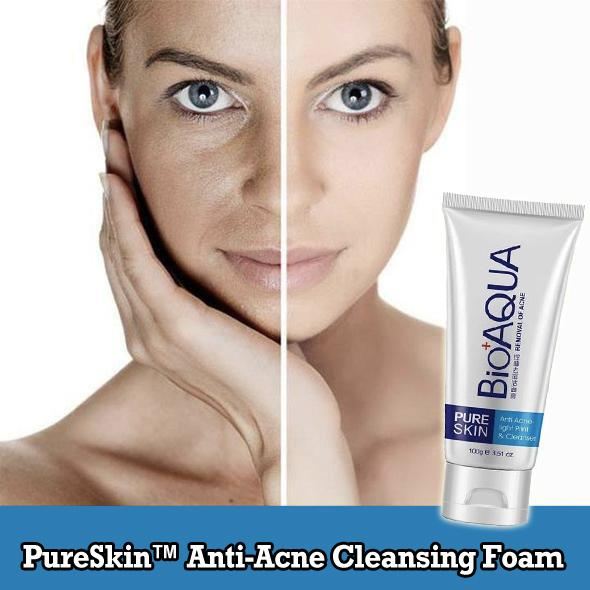 PureSkin™ Anti-Acne Cleansing Foam