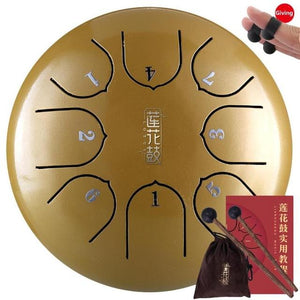 Traditional Steel Tongue Drum
